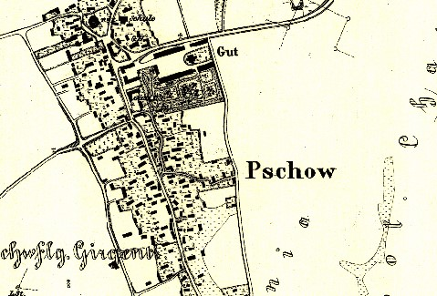 Archiwalne mapy Pszowa