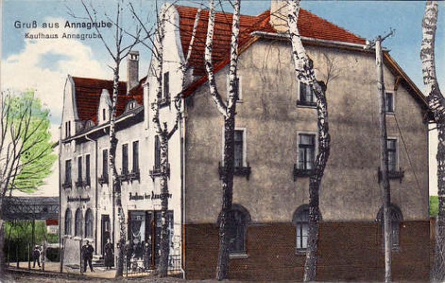 Gruss aus Annagrube r. 1913