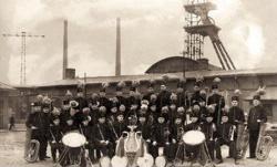 KWK Anna - powstanie orkiestry - r. 1925