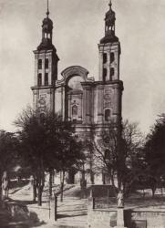 Kościół w Pszowie ok. 1925 r.