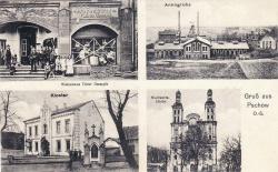 Gruss aus Pschow ok. 1911 r.