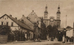 Loslauer Strasse ok. 1940 inne ujęcie