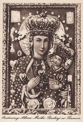 Obraz Matki Boskiej, ok. 1930